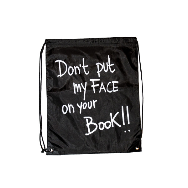 sacca – don't put my face on your book
