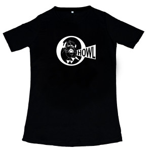 t-shirt - Howl black