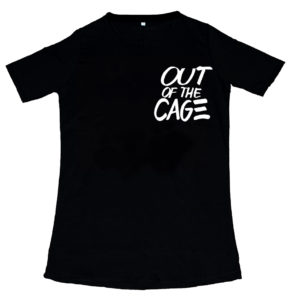 T-SHIRT Out of the cage Black