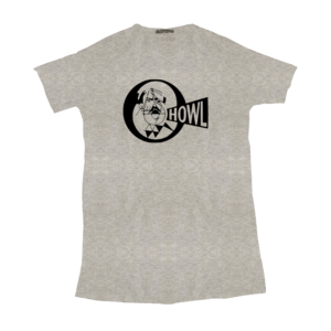 T-SHIRT Howl Records Grey